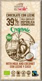 Ciocolata cu lapte si cocos BIO si Fairtrade, 100g Chocolates Sole