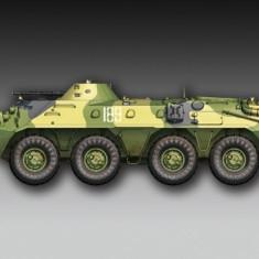 1:72 Russian BTR-70 APC late version 1:72