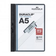 Dosar plastic Duraclip 30 A5 Durable negru