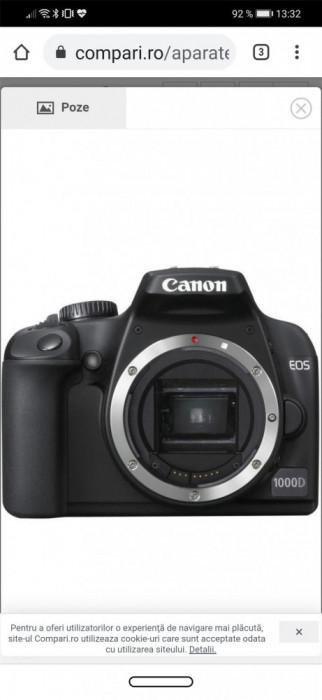 Kit foto Canon D 1000