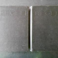 GEORG WILHELM FRIEDRICH HEGEL - PRELEGERI DE ISTORIE A FILOZOFIEI 2 volume