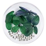 Cumpara ieftin Flori Uscate Unghii LUXORISE cu cristale - Floral Fairytale #02