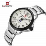 Cumpara ieftin Ceas Barbati Luxury Business Naviforce NF9084 Japan MVT CALENDAR Subacvatic