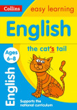 English Ages 6-8 Prepare for School with Easy Home Learning