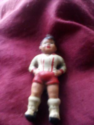 Figurina fotbalist piesa unica 1943,,rog seriozitare,o zi de vis tuturor foto