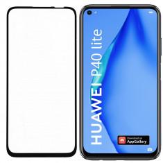 Folie Sticla Roar pentru Huawei P40 Lite, 5D, Case Friendly, Full Glue, Negru foto
