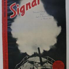REVISTA ' SIGNAL ' , EDITIE IN LIMBA ROMANA , NUMARUL 2 DIN OCTOMVRIE 1942