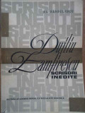 Duiliu Zamfirescu Scrisori Inedite - Al. Sandulescu ,279758