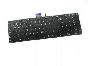 Tastatura Laptop Toshiba Satellite S55T luminata cu rama us neagra