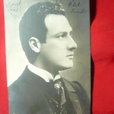 Ilustrata -Personalitati Ungaria- Beregy Oszkar circulat 1903