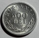 500 Lei 1946 Aluminiu, Romania, a UNC, Luciu de batere (1)