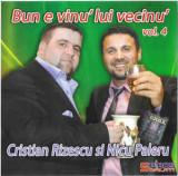 CD audio Cristian Rizescu Si Nicu Paleru – Bun E Vinu' Lui Vecinu' Vol. 4