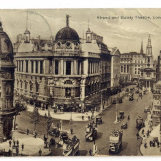AD 1047 C. P. VECHE - STRAND AND GAIETY THEATRE, LONDON -1933-KOVACS ANDREI BUC.