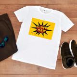 """Cumpara ieftin Tricou personalizat """"Super dad"""" (Marime: XL, Marime imprimeu: A3 + 10 lei,..."""