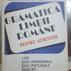 A. Macarie și D. Macarie, Gramatica limbii române, pentru admitere, Ed. a II-a