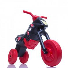 Tricicleta fara pedale Enduro - negru-rosu foto