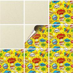 """Sticker Autocolant Faianta Decorativa """"Kitchen Design"""" model K-FAI-33 (pret/bucata)"""