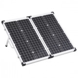 Panou solar portabil pliabil, 60 W, 12 V