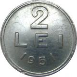 Romania, 2 lei 1951  * cod 96