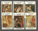 Fujeira 1968 Paintings Letter week MNH M.365