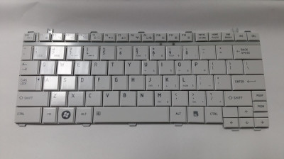 Tastatura laptop noua TOSHIBA U400 WHITE US foto