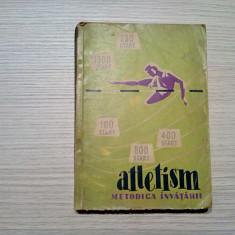 ATLETISM - Metodica Invatarii - A. V. Korobov - 1963, 323 p.; tiraj: 3000 ex.