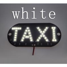 Placuta cu led, indicator taxi, 45 smd 3528, lumina alba