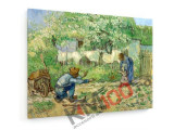 Tablou pe panza (canvas) - Vincent Van Gogh - First Steps - 1890