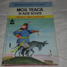 ANTON BACALBASA - MOS TEACA SI ALTE SCHITE ~ ilustratii de Eugen Taru ~