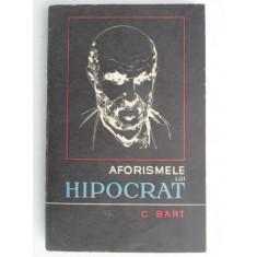 AFORISMELE LUI HIPOCRAT TRADUSE SI COMENTATE DE C.BART