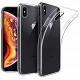 Husa slim silicon transparenta Iphone XS Max