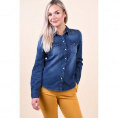 Camasa Vero Moda Maria Slim Medium Blue Denim