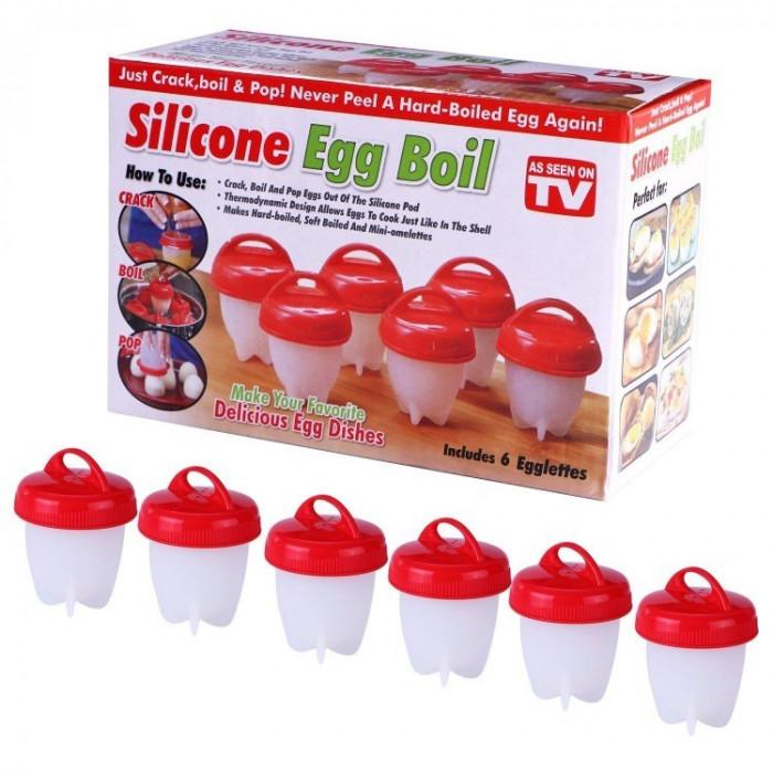 Dispozitiv x 6 de fiert oua fara coaja ! Spune adio cojitului oualelor!