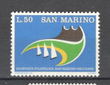 San Marino.1974 Ziua marcii postale  SS.23