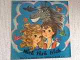 nica fara frica nina cassian disc vinyl lp poveste muzica pentru copii EXE 02844