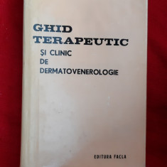 Ghid Terapeutic Si Clinic De Dermatovenerologie -  Costea , STARE FOARTE BUNA .