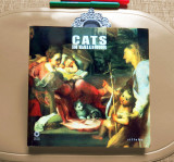 Album de artă CATS IN GALLERIES (Ed. Sillabe, Livorno, Italia, 2009) - NOU!