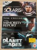 Solaris/Minority report/Planet of the apes  -  DVD boxset, Engleza