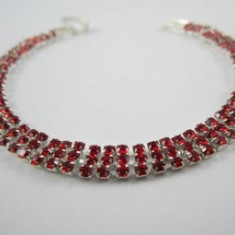 Bratara Red Crystal