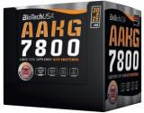 Arginina lichida BiotechUSA AAKG 7800 mg, 20 fiole x 25 ml