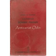 Dictionar Roman-Italian - Mihail M. Ionescu - 1944