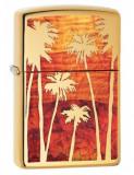 Cumpara ieftin Brichetă Zippo 29420 Palm Trees Sunset Fusion