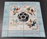 Romania Colita Lp 729a  Mexic 1970 MNH, Nestampilat