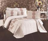 Cumpara ieftin Cuvertură de pat Valentini Bianco Piquet, model Linda