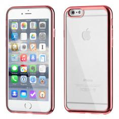 Husa Metalica Slim pentru iPhone 6S 6 rose gold