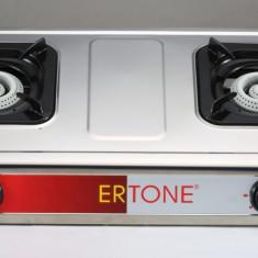 ERT-MN 204 Aragaz inox 2 ochiuri Ertone Autentic HomeTV