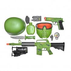 Set militar Combat Zone, 11 accesorii