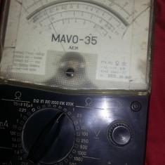 Aparat de masura vechi.masiv,original,aparat de masura MAVO-35,T.GRATUIT