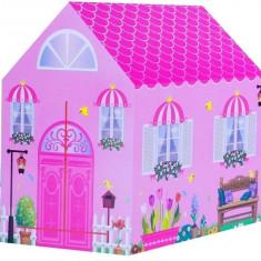 Cort Casuta LeanToys 103 x 93 cm, roz