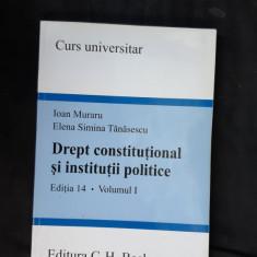 DREPT CONSTITUTIONAL SI INSTITUTII POLITICE MURARU TANASESCU